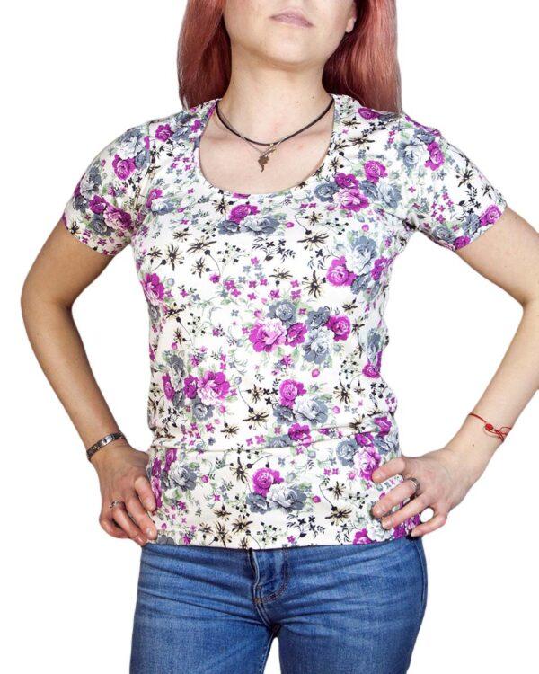 Блуза с къс ръкав Катрин