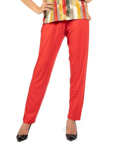 Дамски панталон червен
