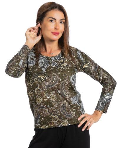 Блуза Лилиан с ангора