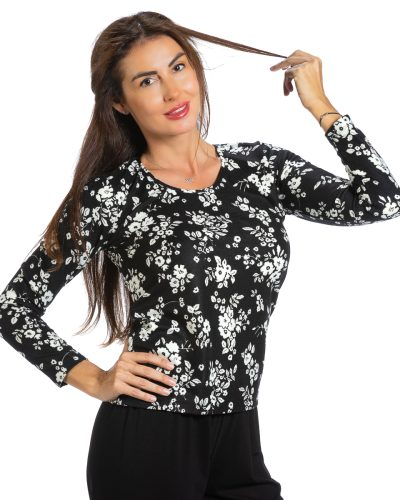 Блуза Фиорела с ангора