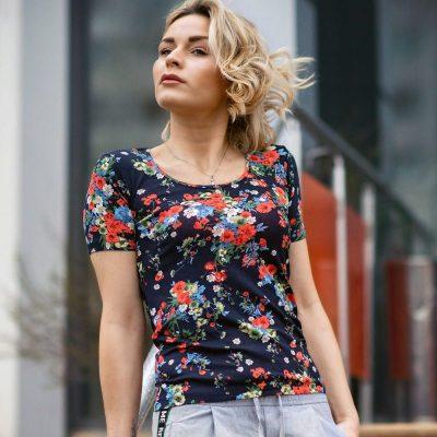 Блуза с къс ръкав Бианка2